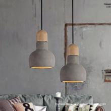 modern nordic pendant light concrete lamp modern indoor hanging pendant light