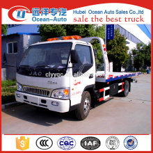 Manual Diesel Engine 3 ton JAC Wrecker Truck