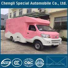 Camion de nourriture de cuisine mobile de rue de fabrication