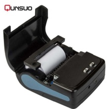 Dot matrix portable mobile printer ribbon changeable