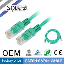 SIPUO alta calidad 1 metro utp 30awg cat5e parche cable