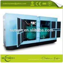 Precio de fábrica 275Kva CUMMINS grupo electrógeno silencioso, impulsado por CUMMINS NT855-GA motor