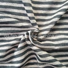 Maillot de vêtement teint en fil de lin (QF13-0283)