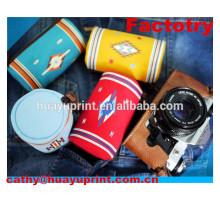 2014 heiße Verkaufsart und weise kundengebundener Großverkauf netter dslr Segeltuch-Kamerabeutel
