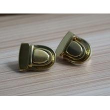 Shiny Gold Custom Logo Metal Locks pour porte-documents