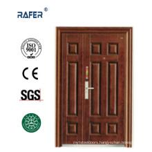 Four Panel Mother Son Steel Door (RA-S151)