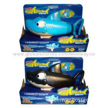 Super Shark Water Guns, Blue, Black Two Colors Optional, Sized 41x14.5x28cm