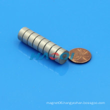 D12XH5mm cylinder smco magnet price