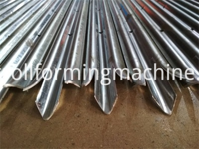 Galvanized Steel Profile Palisade Pales Fence Machines