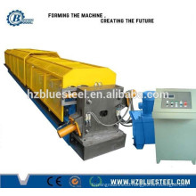 High Speed Round And Square Down Pipe Roll Forming Machine With Pipe Curving Machine 15Mpa PLC Control