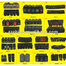all kinds of automotive Rocker Switch for Yutong Kinglong