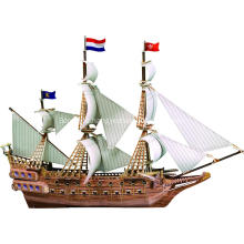 3D Jigsaw Galleon Puzzles for Adults