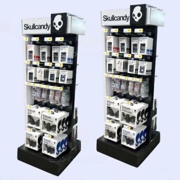 Kopfhörer-Karton-Sidekick-Ständer, Papier-Display-Racks für Kopfhörer