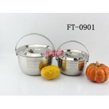Stainless Steel Nabe Sukiyaki Pot (FT-0901-XY)