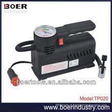 Compressor Inflating do corpo plástico 12V DC Mini Compressor