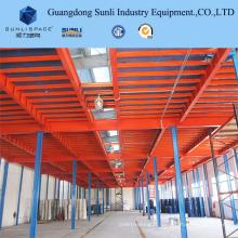 Mezzanine de stockage de système de rayonnage sélectif de palette