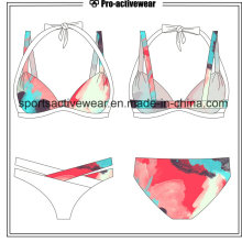 Rainbow Printing Push up Bikinis Sexy Swimwear