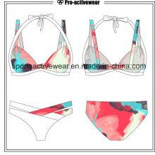 Rainbow impressão Push Up Bikinis Sexy Swimwear