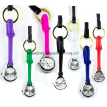 Jelly Silicone Hanging Loop Nurse Watch для медсестер Врачи