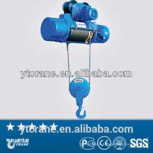 treuil de grue électrique de câble métallique 5 t CD1