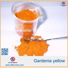 Coloria jaune de Gardenia d'extrait de poudre d'extrait de coloria