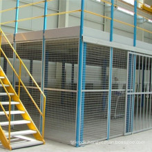 Two Floors Racking with Mezzanine Platform