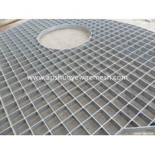 Grating de aço de aço galvanizado de aço inoxidável