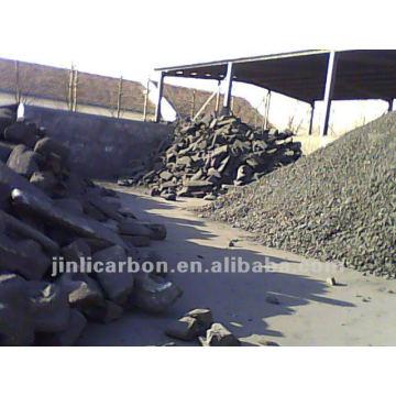 Kohlenstoffanodenschrotte / Kohlenstoffanodenblöcke