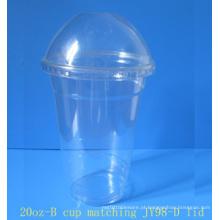 Copos plásticos desobstruídos 20oz (CL-20A-600)