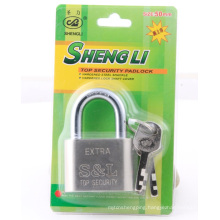 Cheap SGS Factory Wholesale Round Corner Vane Iron Padlock