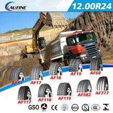 Médio Oriente Gcc aprovado pneumático TBR Radial do caminhão (12.00r24)