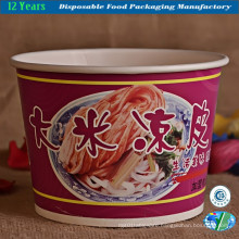 Highlight Paper Bowl in High-Capacity