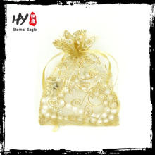 Customized deign mini drawstring jewelry pouches made in China