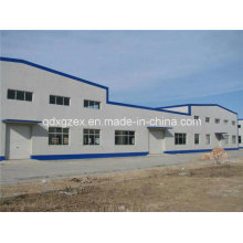 Multi Slope Without Middle Column Metal Structure Building (SSW-15249)