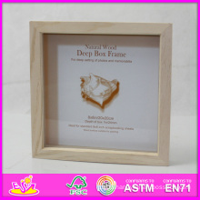 2014 Hot Sale New High Quality (W09A021) En71 Light Classic Fashion Picture Photo Frames, Photo Picture Art Frame, Wooden Gift Home Decortion Frame