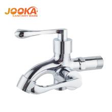 JOOKA marque de qualité double poignée bibcock machine à laver robinet d'eau