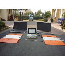 Echelle de pesage des essieux portables