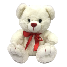 Red Bow Teddy Bear Plush