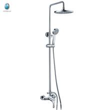 KA-06 en la pared de ahorro de agua de baño conjunto de ducha de mano de latón sanitario de china, alta calidad de 1.5 metros ducha de lluvia manguera