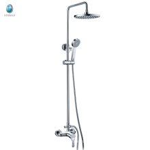 KA-06 in-wall water saving bathroom china sanitary brass hand shower set, high quality 1.5 meters hose rain shower