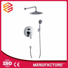 concealed shower set chrome in-wall shower set