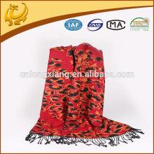 Heißer Verkauf 100% Viskose-Schal für Dame