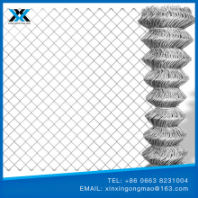 Diamond chain link wire mesh