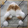 Latest Styish Custom Boonie Handmade Crochet Cute Rabbit Fur Hat