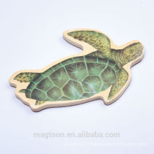 custom wooden fridge magnet wooden Animal shape magnet