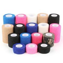 Bandages cohésifs auto-adhésifs de premiers soins de bande de sport
