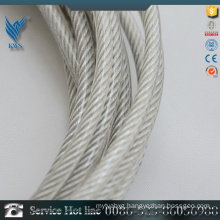 6mm plastic coated stainless steel wire rod made in China