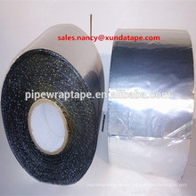 tubos de cinta de butilo wateproof membranas de aluminio cinta de envoltura de asfalto