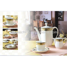 german made fine china cup saucer mugs golden bone china ceramic dining table set