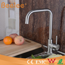 High Quality 304 Material Kitchen Stainless Steel Faucet Hs15005